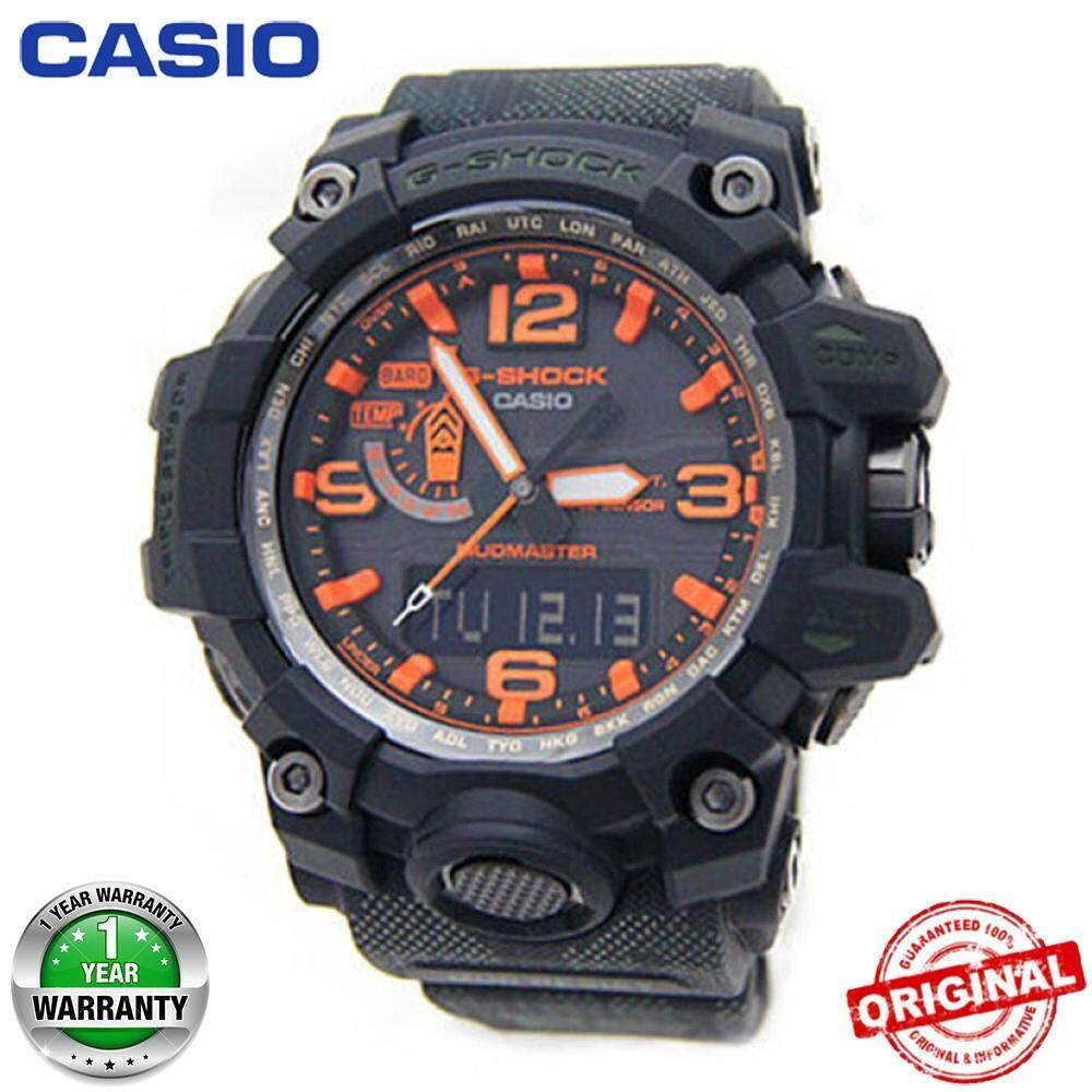 【Ready Stock】Casio G-Shock GWG-1000 MUDMASTER Wrist Watch Men Sport