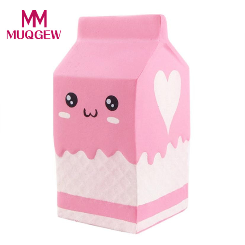 Drop shipping Squishy Yogurt Bottle Scented Squishy Slow Rising Squeeze Toys Jumbo 2018 New arrival squishies Toy for kids 0%