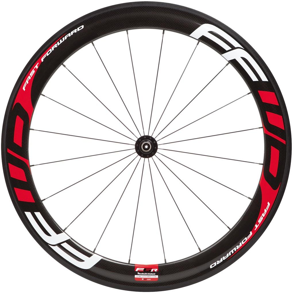 【精選特賣】 FFWD-F6R DT350碳纖板輪(加送Vittoria管胎*2) 黑/紅/白