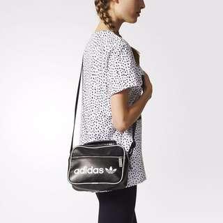 Adidas Originals Black Mini Airliner Bag