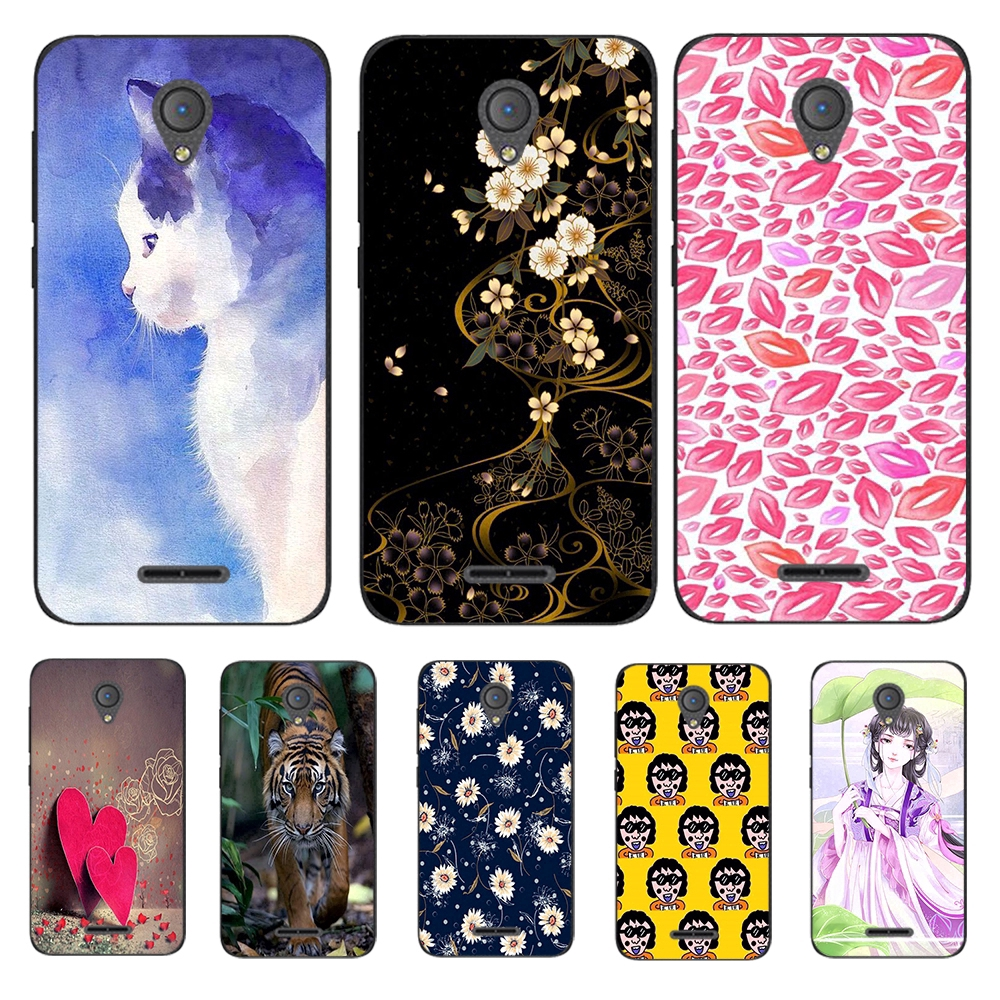 For VIVO Y91 Y91i Mediatek Y95 Y71 Y71i DIY Soft Phone Case Cover Butterfly Cat