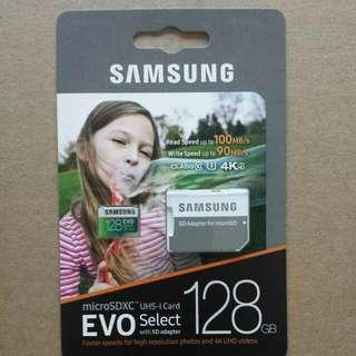 Samsung EVO Select U3 123Gb