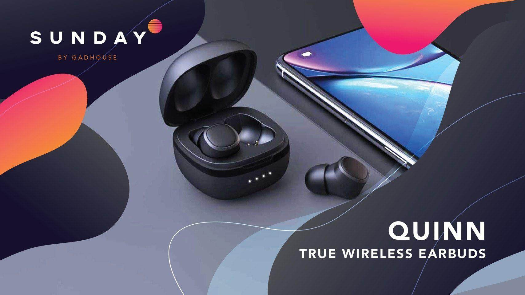 9f6b293302d Gadhouse Quinn True Wireless Earbuds หูฟังไร้สาย,หูฟังwireless