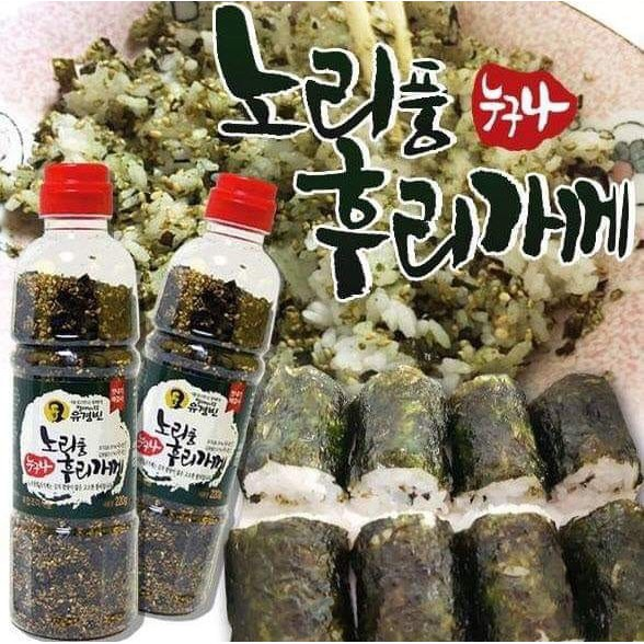 *貪吃熊*韓國 海苔酥 海苔芝麻 飯友  鰹魚海苔芝麻 香鬆 拌飯  原味海苔芝麻 寶特瓶裝香鬆