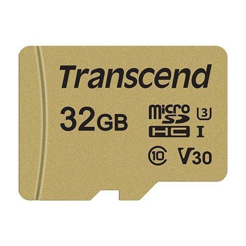 創見 記憶卡 【TS32GUSD500S】 32GB Micro-SD 讀95MB 寫60MB 支援 U3 新風尚潮流