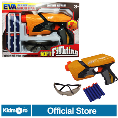 Nerf Gun Soft  fighting With Glasses EVA Gun Toy Fun and Action Gun Toy for your Kids
