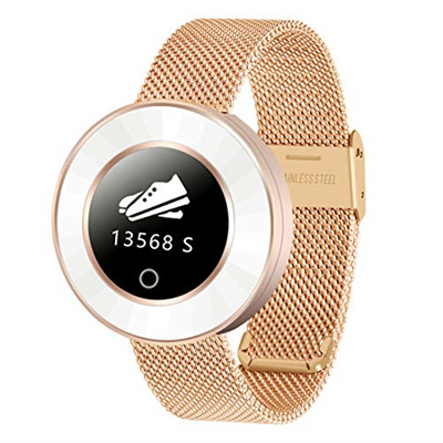 ▶$1 Shop Coupon◀  SIHOHAN Womens Smart Watch, Bluetooth Fitness Tracker with Heart Rate Monitor Wate