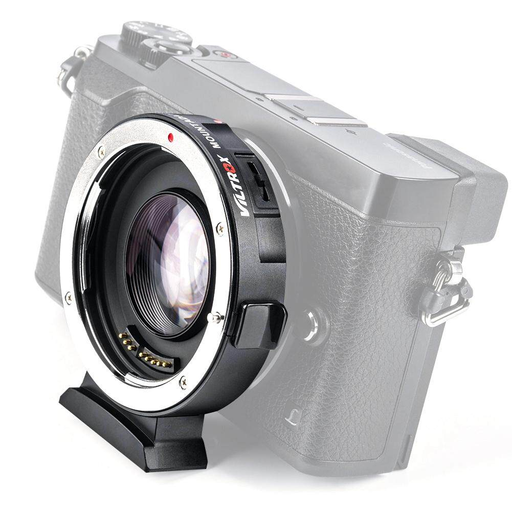 【Imported】VILTROX EF-M2II Auto Focus อะแดปเตอร์เลนส์อุปกรณ์เสริมสำหรับ Canon EF เลนส์สำหรับ M2II กล้อง