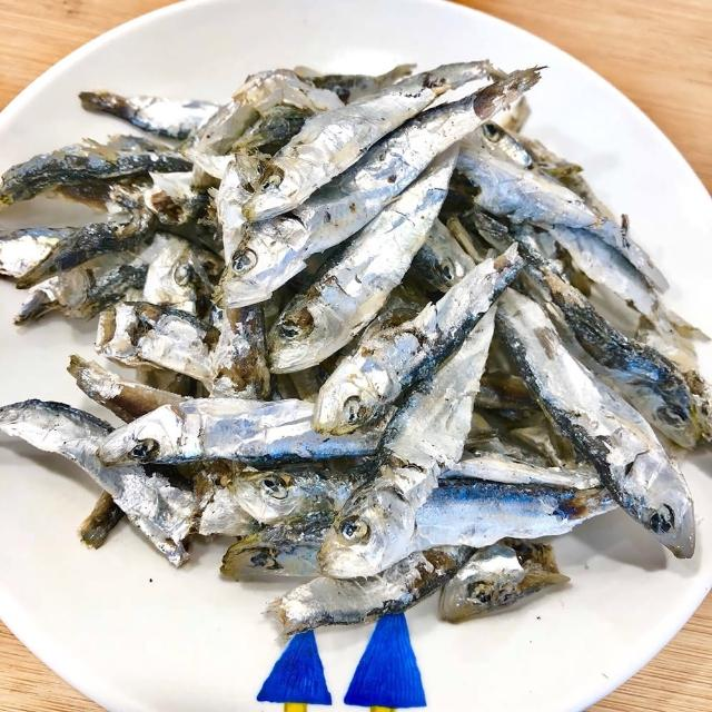 【老張鮮物】澎湖野生小扁魚乾 5包組(150g±10%/包)