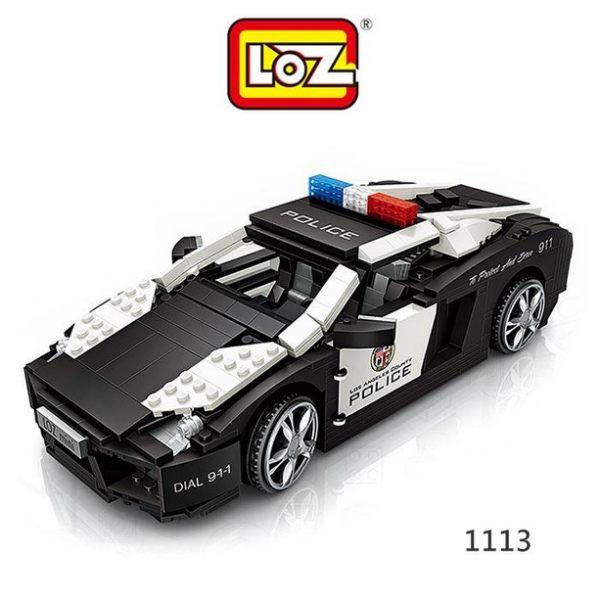 【愛瘋潮】LOZ mini 鑽石積木-1113 警車 迷你樂高 迷你積木