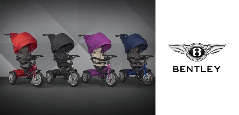 【Bentley 賓利】兒童三輪車