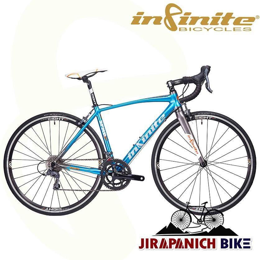 จักรยานเสือหมอบ INFINITE รุ่น SPAD RACE ( Shimano Claris 16 สปีด , น้ำหนักทั้งคัน 9.8 กก. , ปี 2019 )