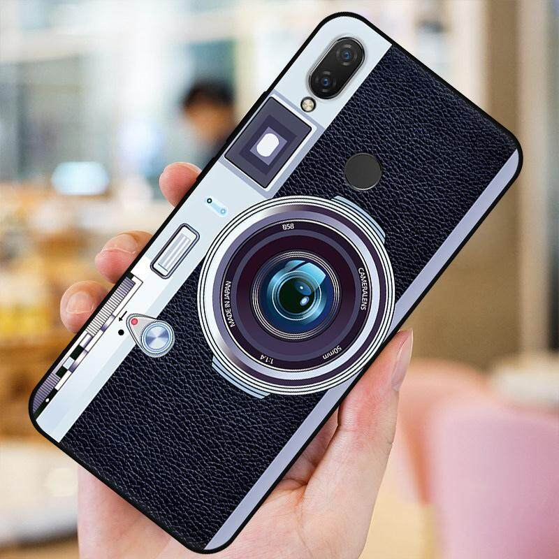For Huawei Nova 3i Case Fashion Camera Pattern Soft TPU Silicone Back Cover for Huawei Nova 3i Phone Case