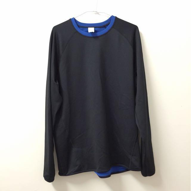 Tek Gear 美國機能運動排汗長袖上衣 XL