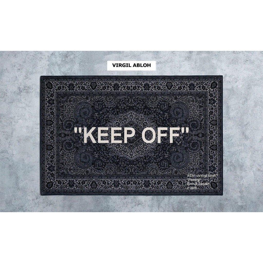 ㊕國外公司貨㊕ IKEA Keep Off Rug 200x300 CM Grey/White 宜家家居 地毯