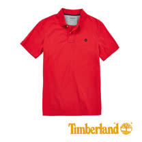 Timberland 男士Millers River Polo 衫-紅
