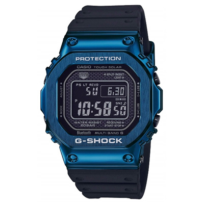 Casio G-Shock GMW-B5000G-2JF Bluetooth Multiband Solar Metal Watch GMW-B5000G-2