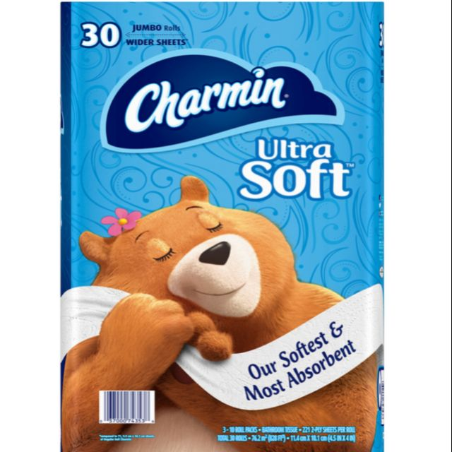 Charmin 超柔捲筒衛生紙 221張 X 30捲