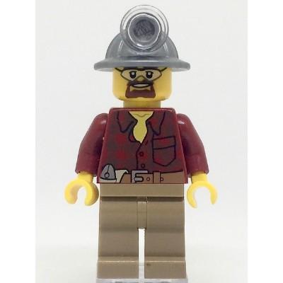 樂高人偶王 LEGO 經典城市系列-挖土機駕駛#4203  cty334