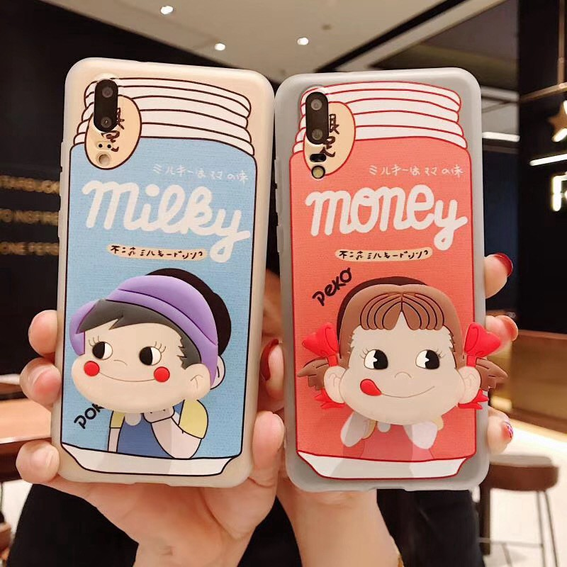 VIVO V9 Y81 V7 V7P Y71 Y66 Y67 V5 V5plus Cartoon Cute Soft case with Stand