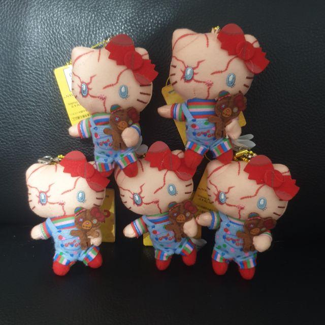 【日本連線】日本 環球影城 萬聖節限定 鬼娃娃恰吉KITTY貓造型娃娃吊飾 絕版限量 生日送禮最愛