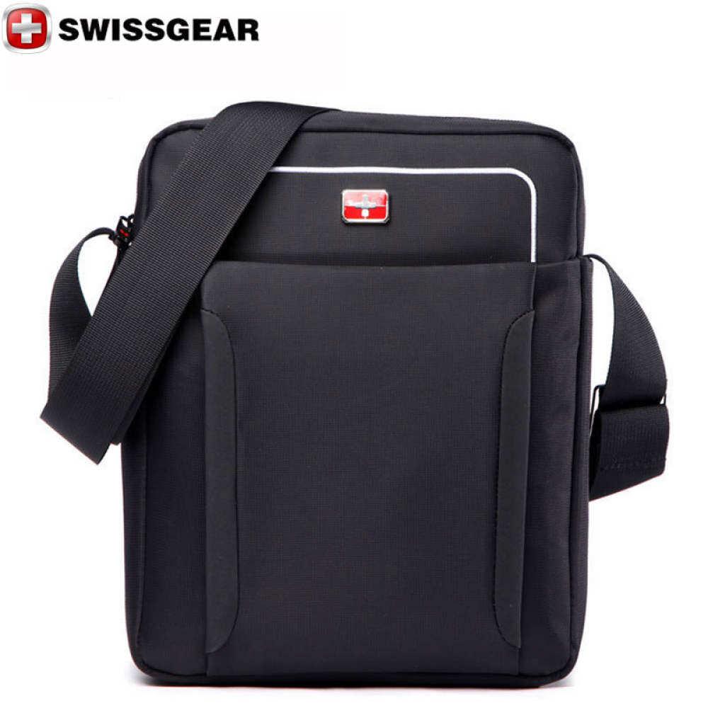 New Brand SWISSGEAR Waterproof For ipad Shoulder Bags Portable Bag JDB70 Women and Business Men Laptop 22*8*27 Messenger
