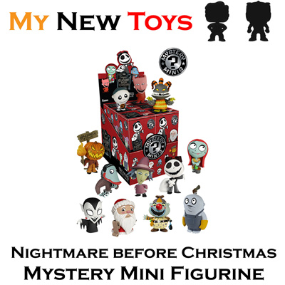 Mystery Mini Nightmare Before Christmas Mystery/Blind Box