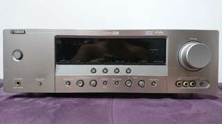 Yamaha amplifier RX-V461 with 5.1 speakers (price further reduced!)