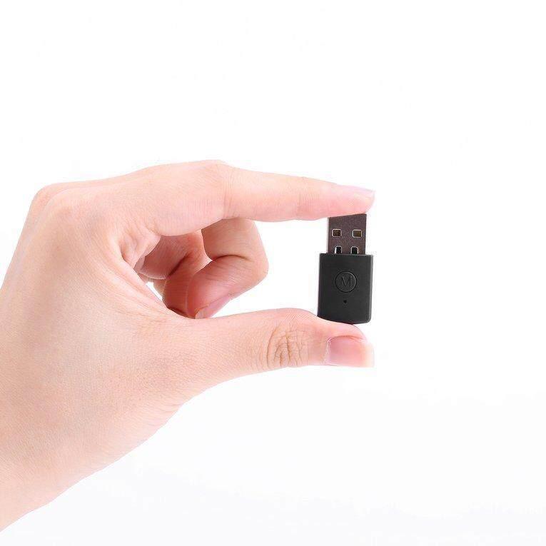 RongNEW GOOD 3.5mm Bluetooth 4.0 + EDR USB Bluetooth Dongle Latest Version USB Adapter Black