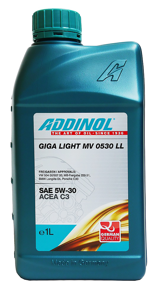 ADDINOL  Giga Light MV 5W30 合成機油 #2573