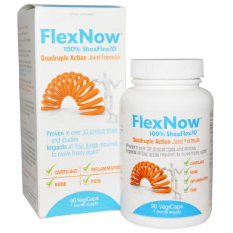 美國代購FlexNow關立固美國原裝 Joint Formula 加強型 乳油木果