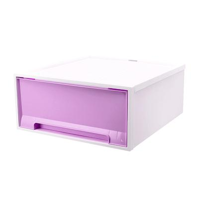 JIJI Samla Stackable Chest Drawers - Purple Only / Home Organisation / Space Savers (SG)