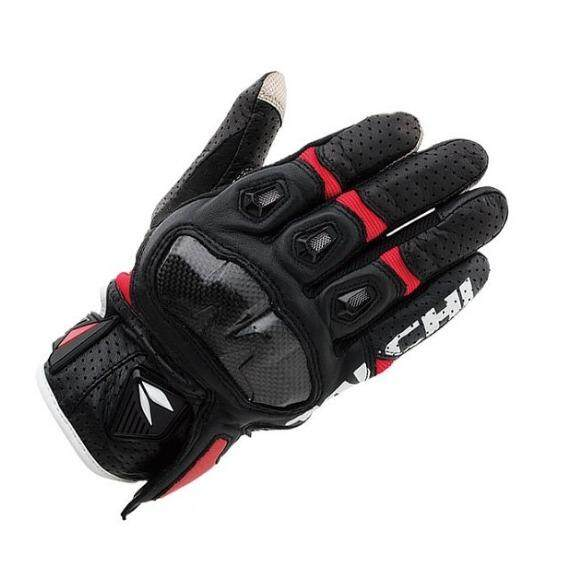 RS TAICHI RST410 Motocross Riding Gloves Touch Screen Indonesia Imported Leather Racing Gloves - intl