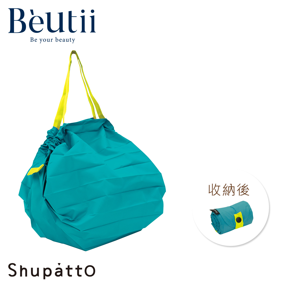 日本SHUPATTO S411 M碼 手提肩背秒收購物包 兩用包 環保袋 購物袋 一秒收納 台灣公司貨 非日本代購