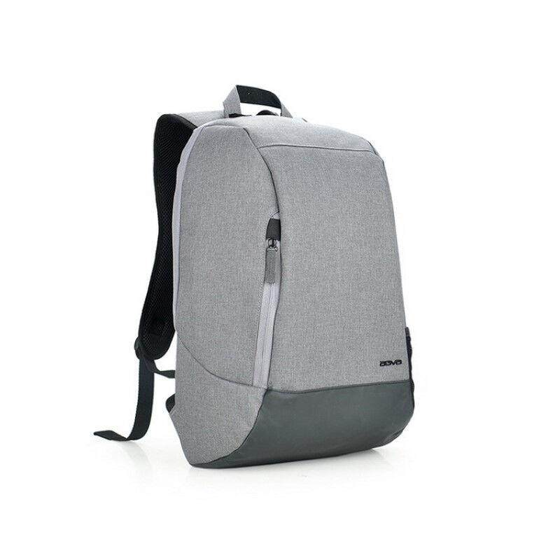 "BACKPACK 15.6"" AGVA ESSENTIAL LTB352 GREY PWB : 243339"
