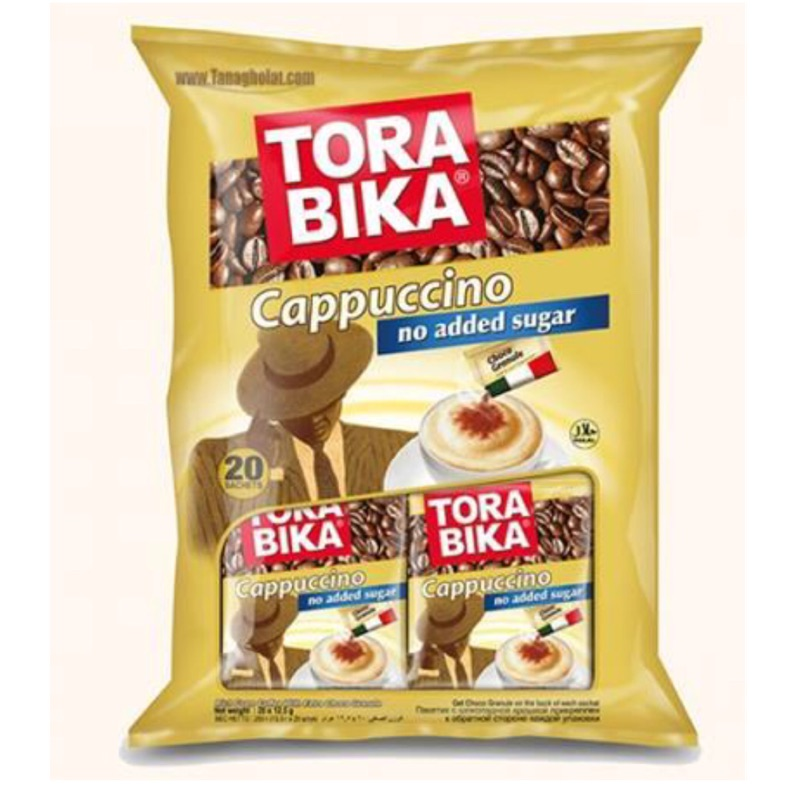 Pokipo集團高機能咖啡升級版TORA BIKA卡布奇諾咖啡(二合一)不含糖