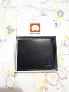 Delsey Leather Wallet