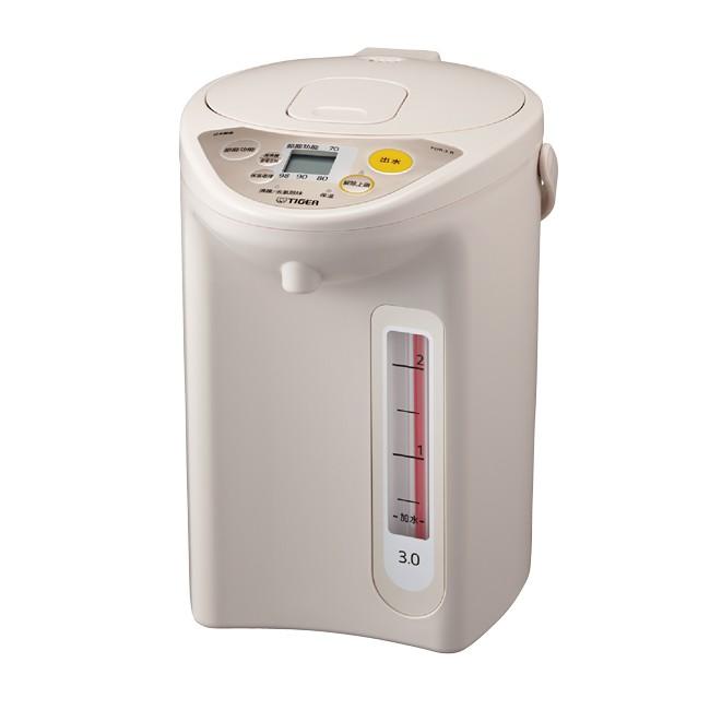 【全館免運】TIGER虎牌3.0L微電腦電熱水瓶 PDR-S30R