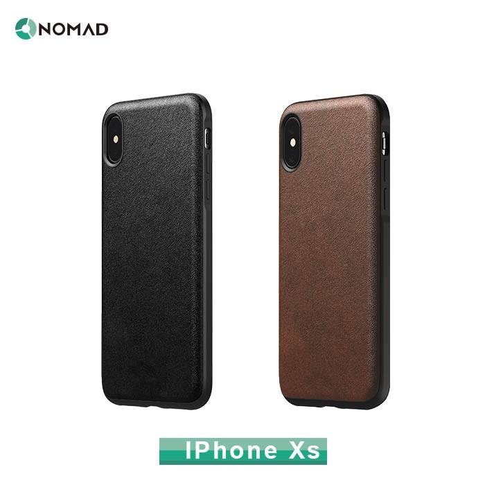 【貝殼拍賣】原廠貨 美國NOMAD經典皮革防摔保護殼-IPHONE X/XS(5.8吋)