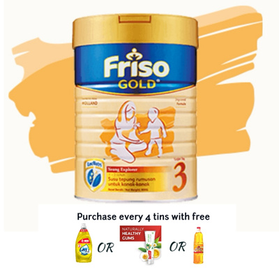 Friso Gold Step 3-900grms