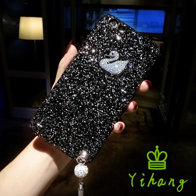 10 VIVO V9 V7 V5 Plus Lite Y83 Y55 Y53 Y71 Y51 Personalized Cute Swan tassel Case