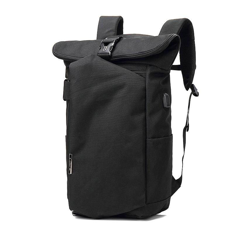 Ozuko Oxford Cloth Backpack Fashion Personality Backpack Leisure Usb Charging Travel Backpack