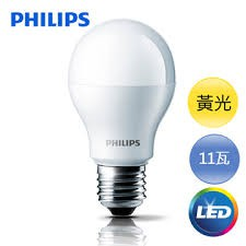 【台創星秀】飛利浦 Philips 11W LED 燈泡 白光  (1入)