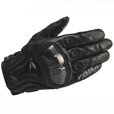 rs taichi rs390 leather motorcycle gloves perate carbon fibre gant protection full finger gloves