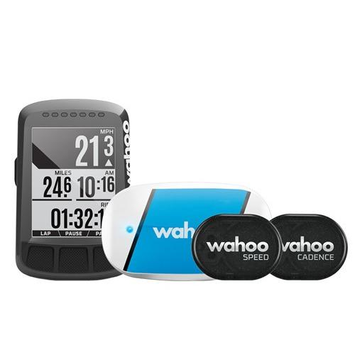 Wahoo Elemnt Bolt GPS Bicycle Computer Speedometer Bundle Set