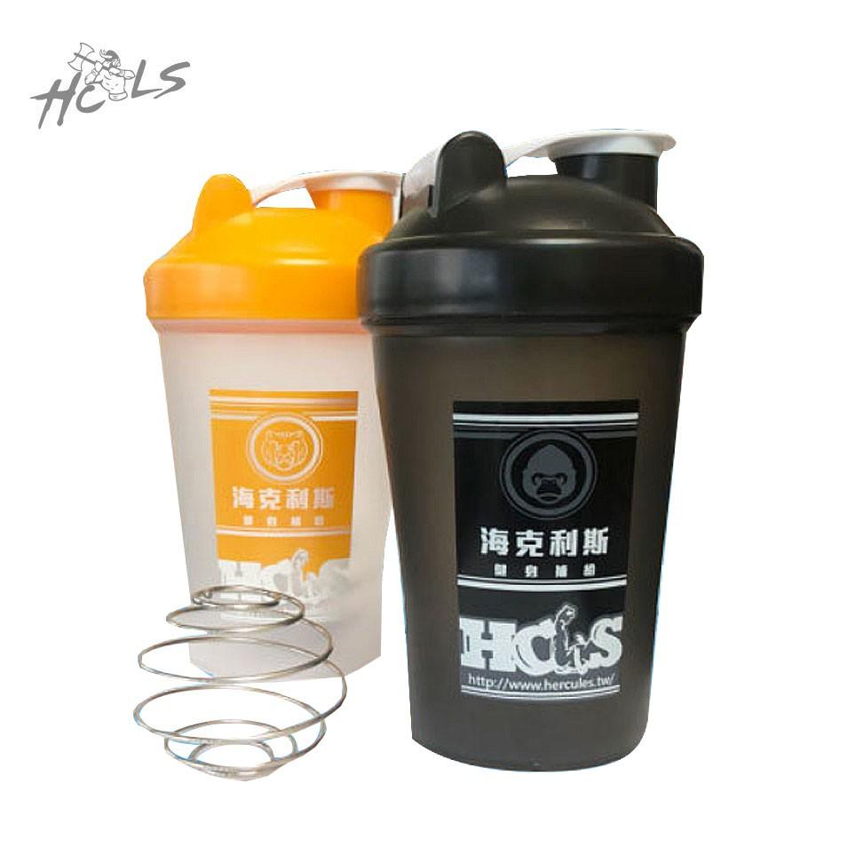 【HCLS 海力士】小巧型威力健身搖搖杯《400 C.C健身運動用品配備》( 含不鏽鋼金屬攪拌球/濾網 )