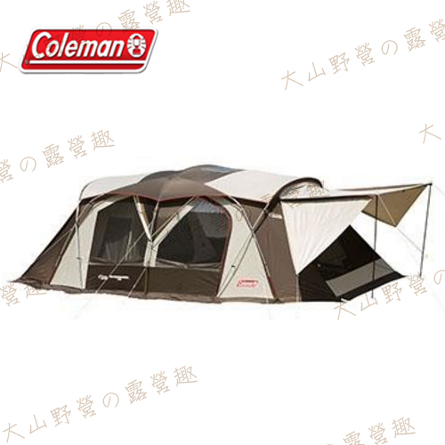 【露營趣】Coleman CM-22110 氣候達人2-ROOM COCOON II 別墅帳篷 網屋 客廳帳 隧道帳