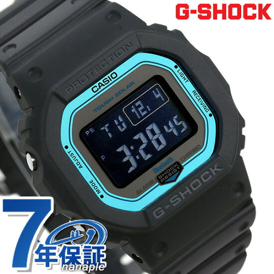 G-SHOCK電波太陽能GW-B5600數碼Bluetooth手錶GW-B5600-2ER G打擊黑色 nanaple