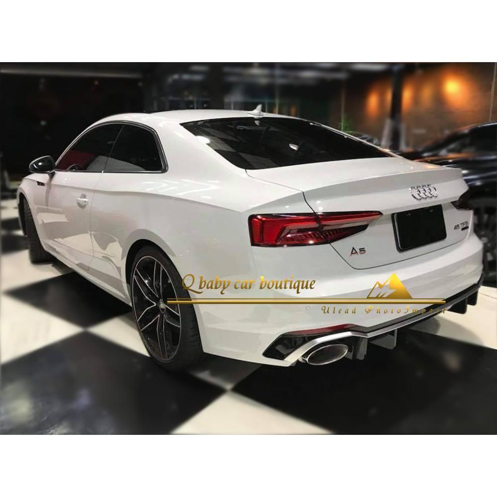 首發~ 2018 Audi A5 Coupe升級RS5 RS5後保桿 後保桿 後保桿 保桿 空力套件