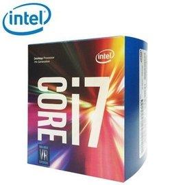 【捷修電腦。士林】Intel Core i7 7700K 中央處理器(盒裝) 全新代理商公司貨 無風扇 $ 10690